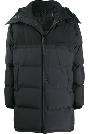Moose Knuckles Contrast panel padded coat
