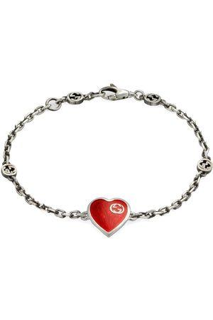 Gucci Interlocking G heart bracelet