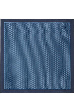 Ermenegildo Zegna Logo-print pocket square
