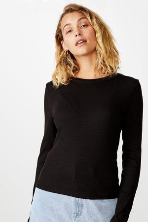 Cotton On Dámské basic triko s dlouhým rukávem Turn