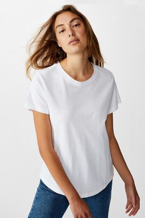 Cotton On Dámské basic triko s krátkým rukávem Crew