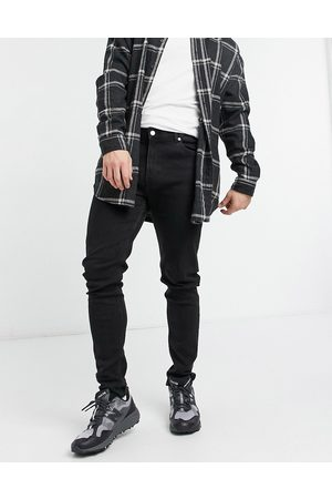 Weekday Cone Jeans in Tuned Black
