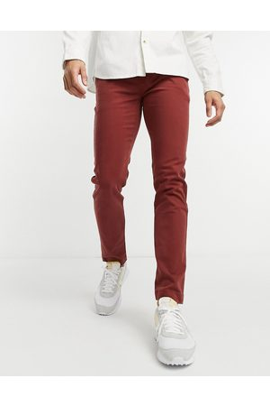 Levis Levi's xx slim fit twill chino trousers in madder brown