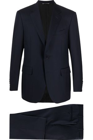 CANALI Muži Obleky - Single-breasted wool suit