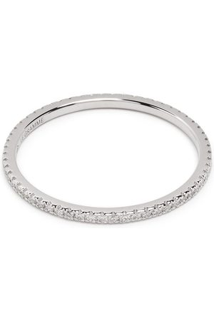 Le Gramme 18kt white gold 1g diamond pavé ring