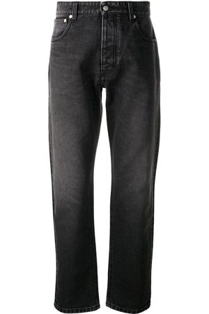 Ami Light-wash straight-leg jeans