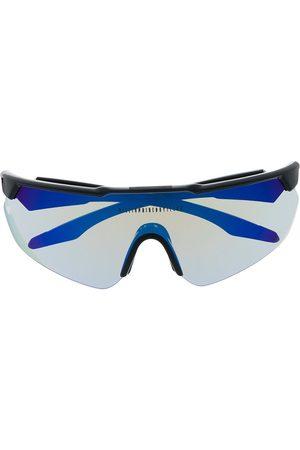 Billionaire Boys Club Logo decal wraparound-frame sunglasses