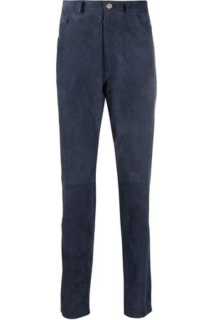 DESA 1972 Suede slim-fit trousers