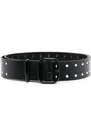Serafini Cut-out leather belt