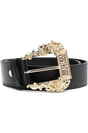 VERSACE Logo buckle belt