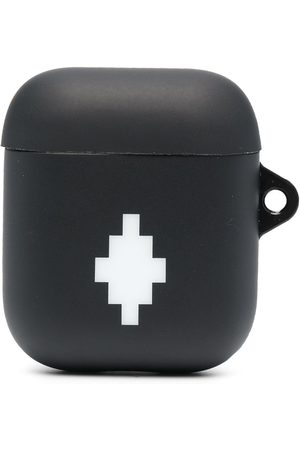 MARCELO BURLON CROSS AIRPODS CASE BLACK WHITE