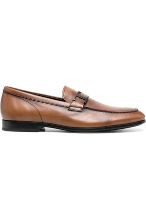 Tod's Log-plaque loafers