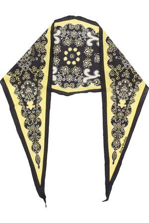 Acne Studios Paisley diamond shape scarf