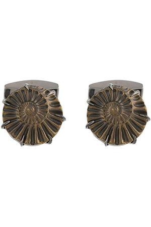 Tateossian Ammonite cuff-links
