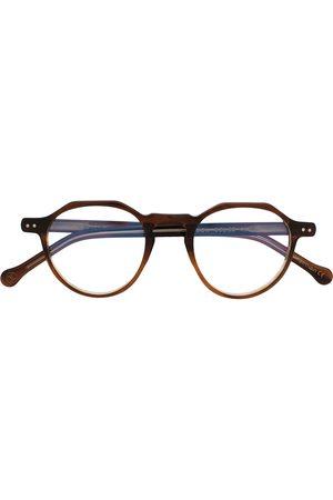 LESCA Icon 22 round frame glasses