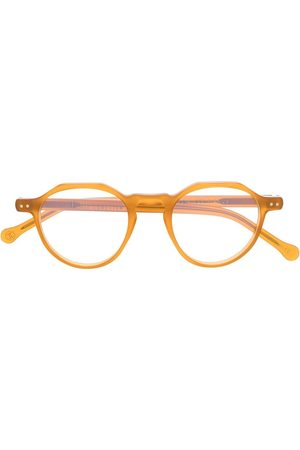 LESCA Icon C1 round frame glasses