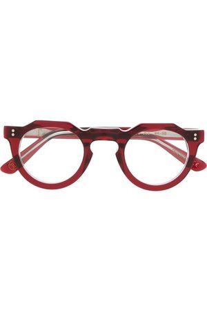 LESCA Pica A4 round frame glasses