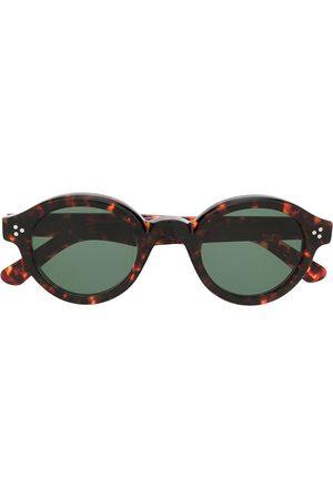 LESCA Corbs round-frame sunglasses