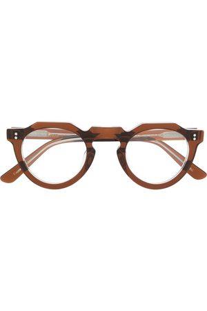 LESCA Pica 30 round frame glasses