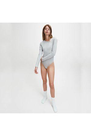 Calvin Klein Dámské šedé body