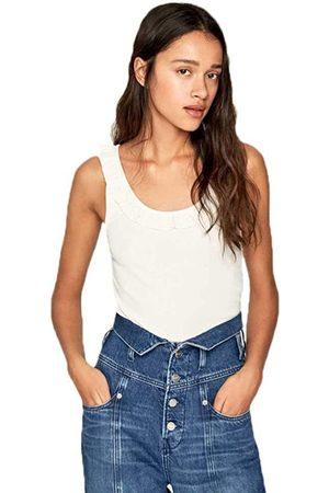 Pepe Jeans Ženy Topy - Dámské bílé tílko Diane