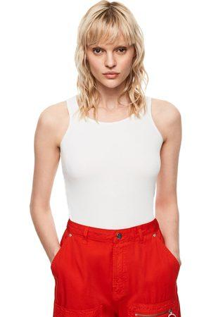 Pepe Jeans Ženy Topy - Dámské bílé tílko Gwen