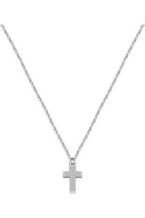 Morellato Pánský ocelový náhrdelník s křížkem Motown SALS45