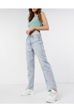 AMERICAN EAGLE Ženy Boyfriend - 90's boyfriend jeans in bleach wash blue