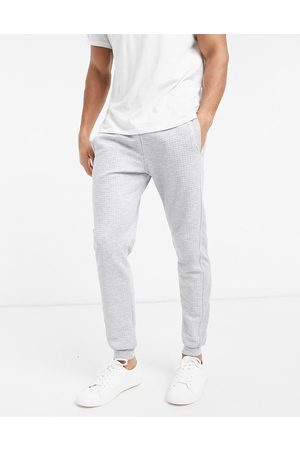 River Island Quilted jogger in grey