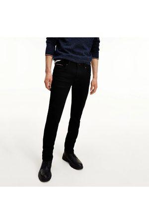 Tommy Hilfiger Pánské černé džíny Slim Bleecker