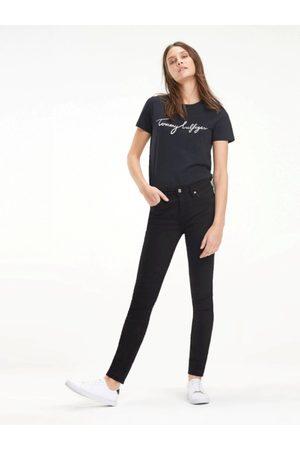Tommy Hilfiger Ženy Kalhoty - Dámské černé džíny COMO
