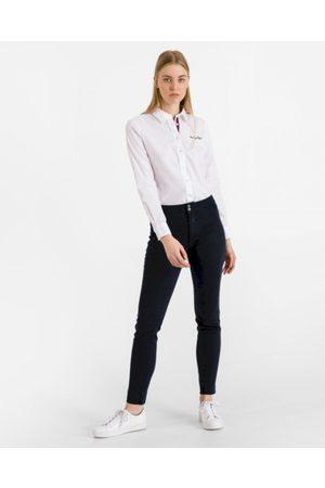 Tommy Hilfiger Ženy Legíny - Dámské tmavě modré džíny