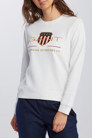 GANT Mikina Archive Shield C-Neck Sweat