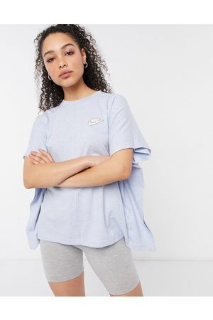 Nike Earth Day oversized t-shirt in baby blue