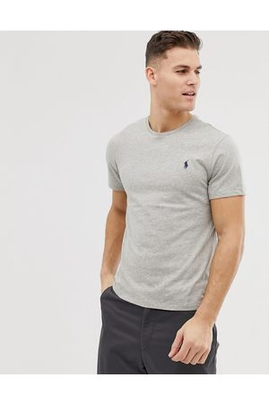 Polo Ralph Lauren Slim fit t-shirt with crew neck in grey