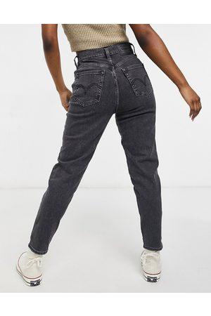 Levi's Ženy S vysokým pasem - Levi's high waisted tapered jeans-Black