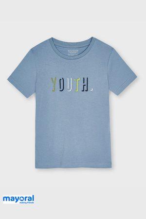 Mayoral Moda Infantil, S:A.U. Chlapci Trička - Chlapecké tričko Mayoral Youth modré