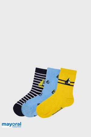 Mayoral Moda Infantil, S:A.U. Chlapci 3 PACK ponožek Mayoral Sailing