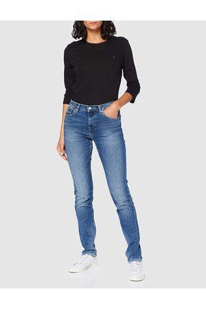 Tommy Hilfiger Ženy Kalhoty - Dámské modré džíny