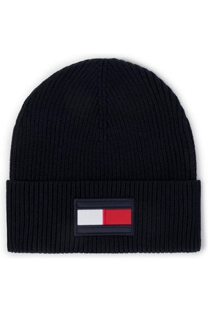 Tommy Hilfiger Muži Čepice - Pánská tmavě zimní čepice