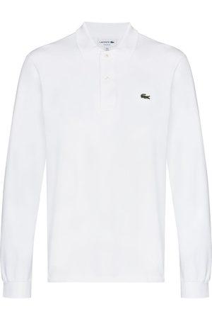 Lacoste Muži S dlouhým rukávem - Logo-patch long-sleeve polo shirt