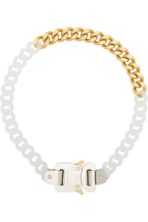 1017 ALYX 9SM Two-tone chain-link necklace