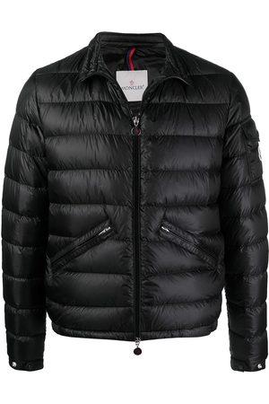 Moncler Logo-patch zip-up padded jacket