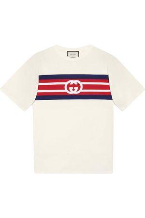 Gucci Interlocking GG striped T-shirt