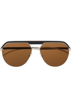 MYKITA Panelled aviator sunglasses