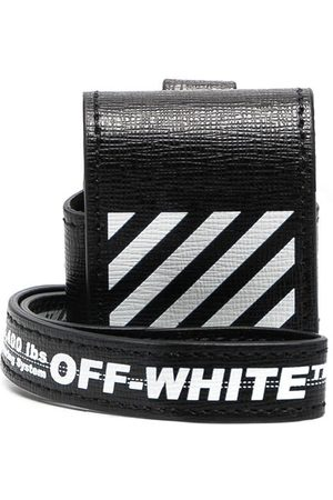 OFF-WHITE Diagonal print AirPods case