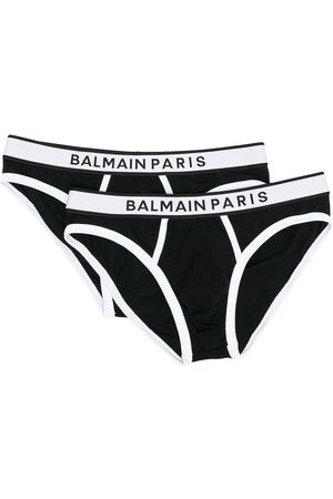 Balmain Logo-waistband briefs
