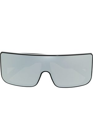 Rick Owens Mirrored oversize sunglasses