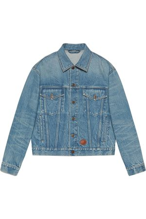 Gucci X Disney eco washed denim jacket