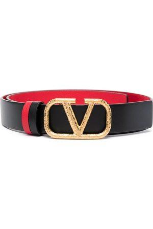 VALENTINO GARAVANI VLOGO leather buckle belt